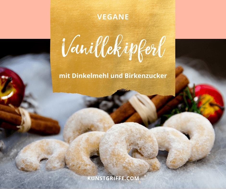 Vegane Vanillekipferl